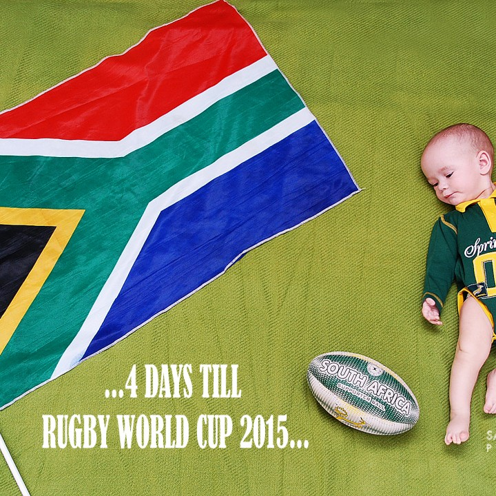 4 Days to Go.... #RWC2015